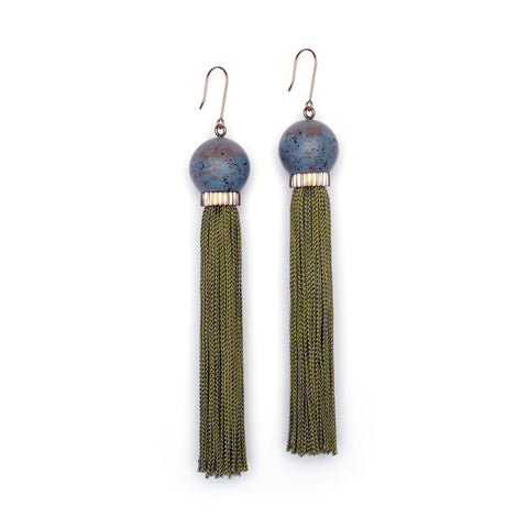Tremble Tassel Earring - Hera