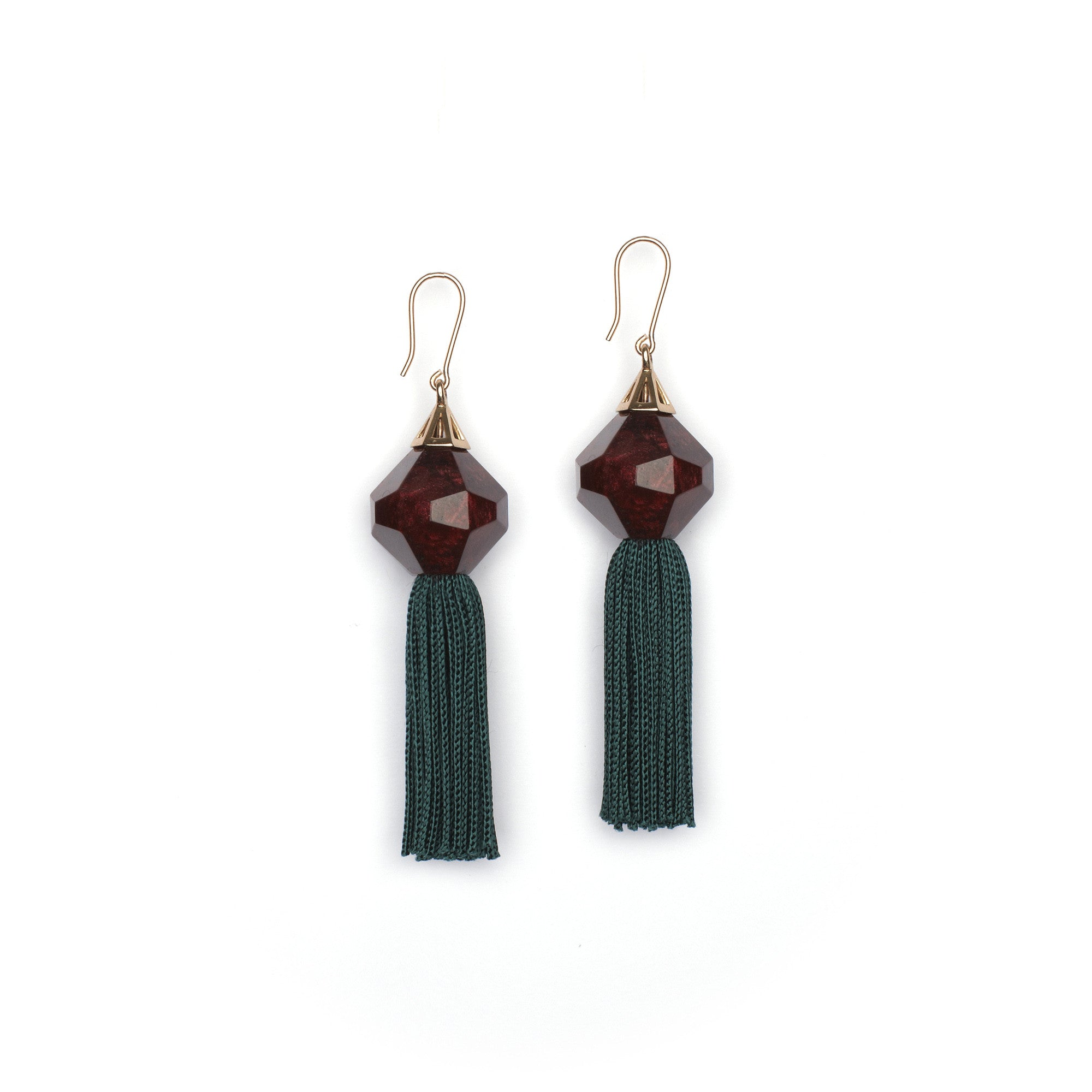 Mythical Tassel Earring - Hunter