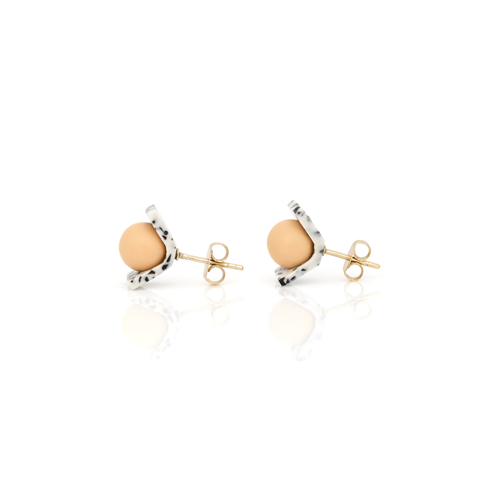 Small Truth Earring - Peach