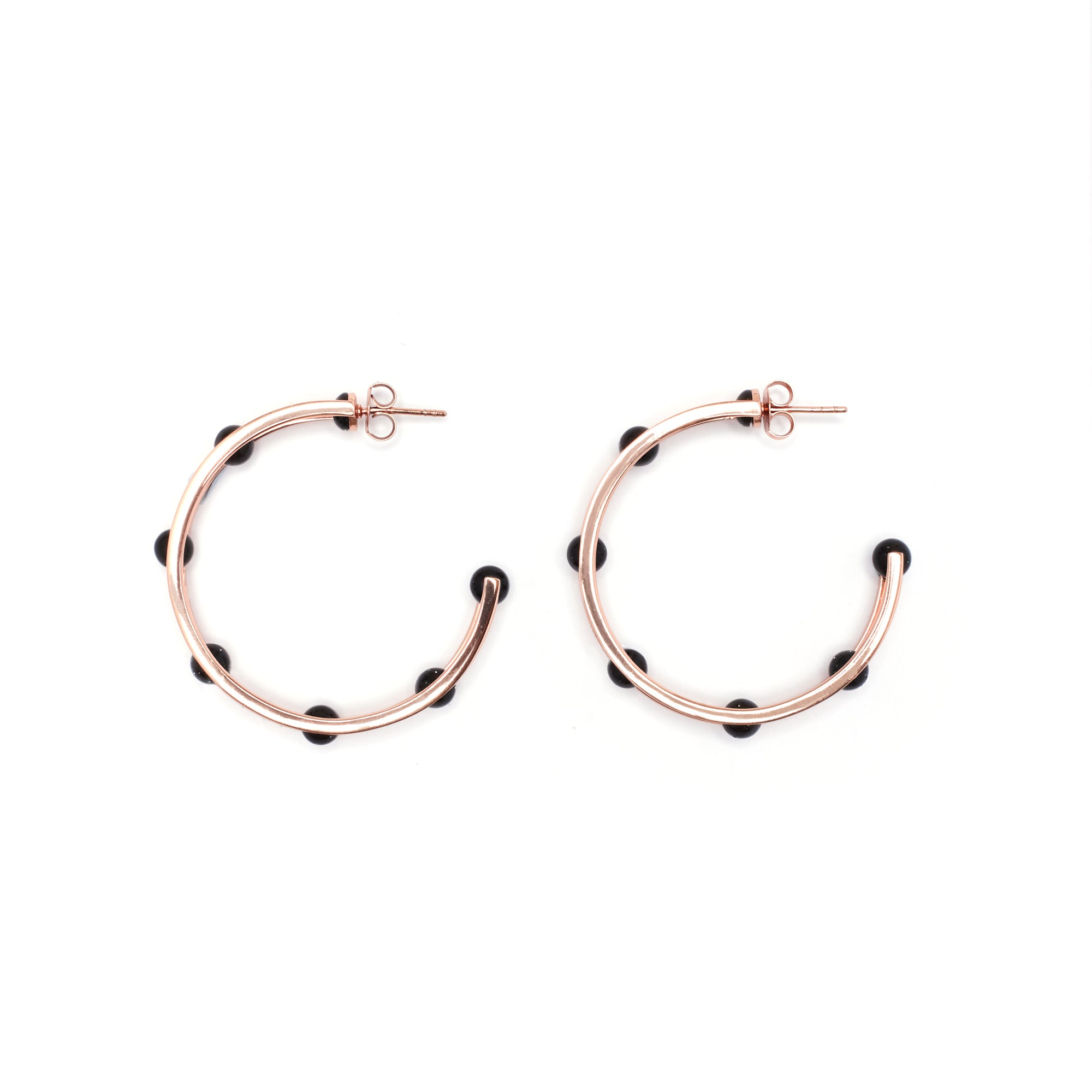 Delphina Earrings - Goldstone