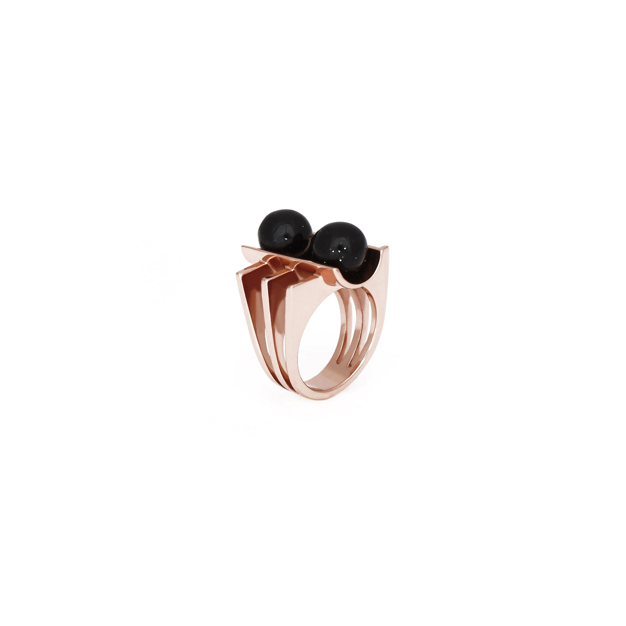 Century Ring - Goldstone