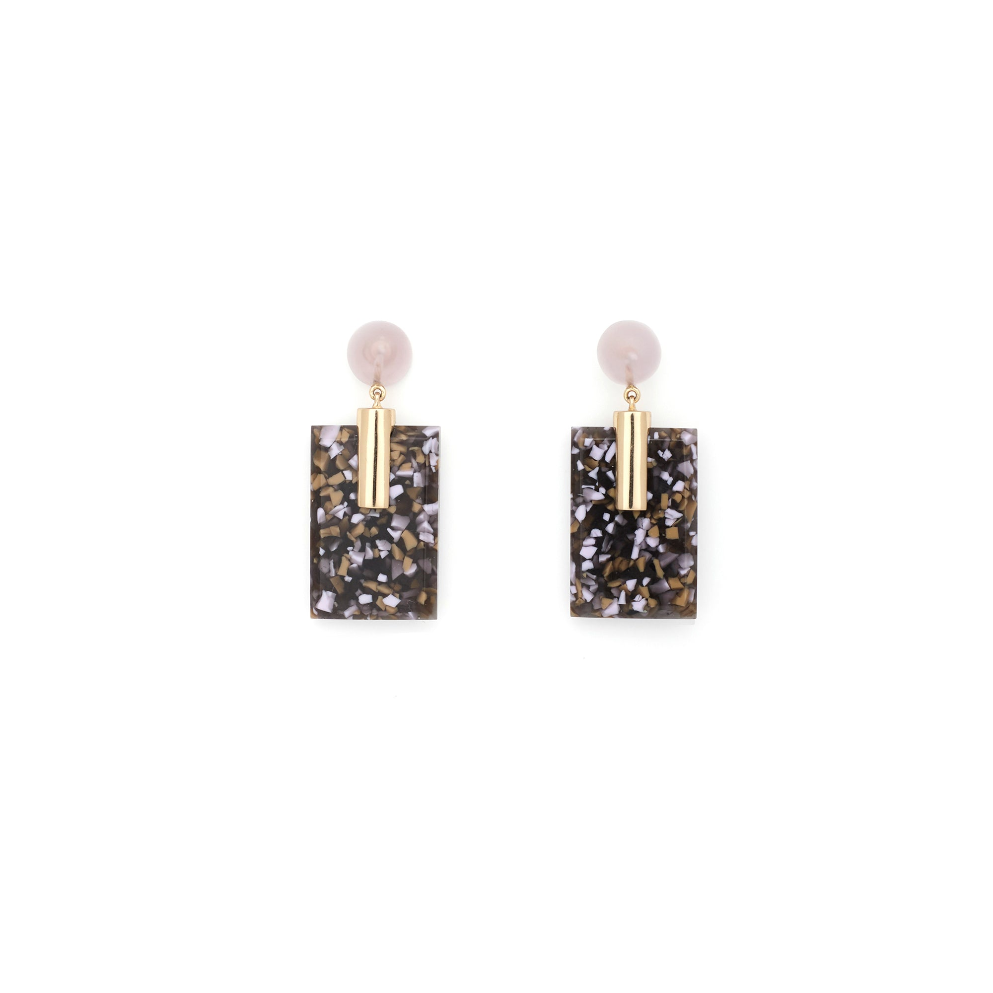 Fortune Earrings - Moss