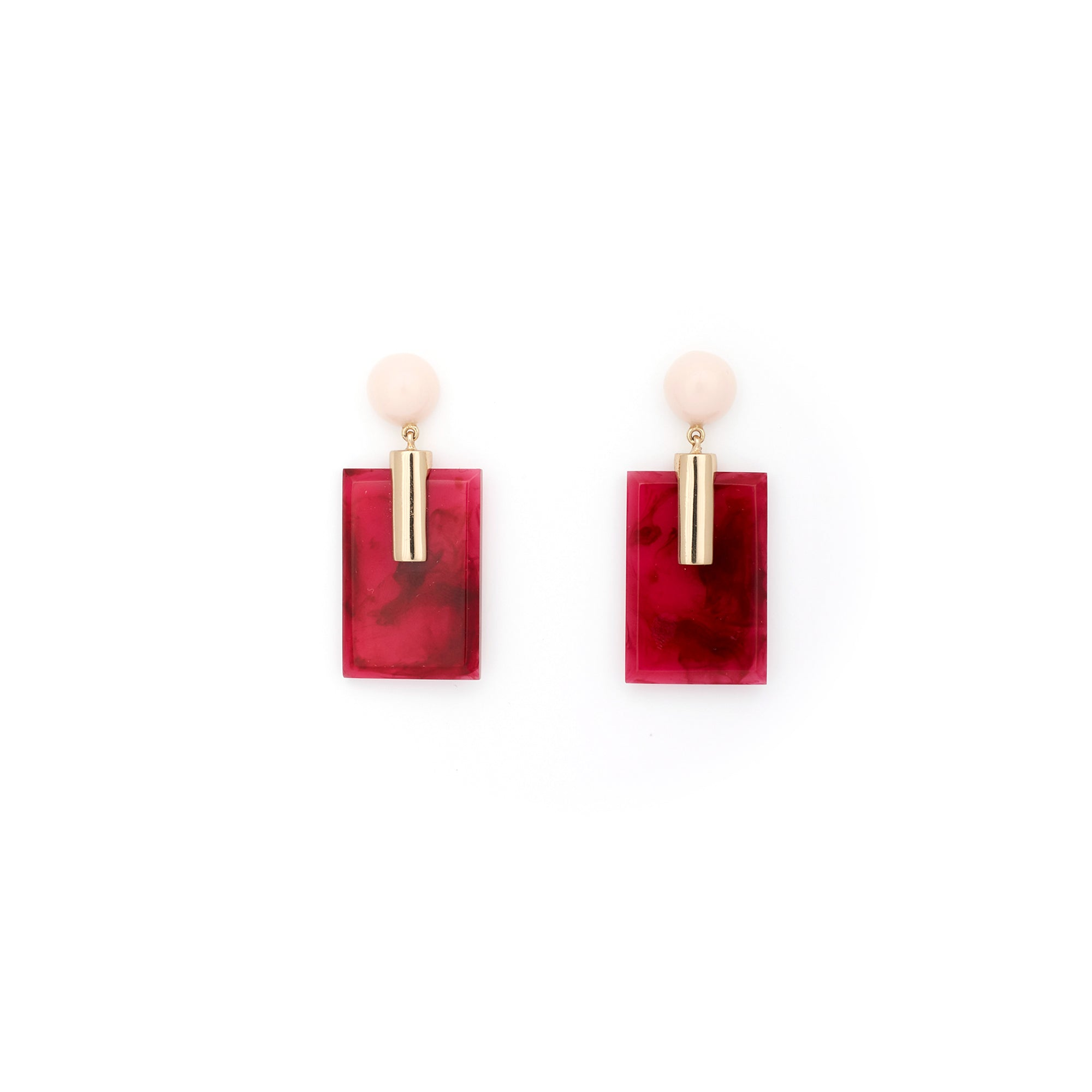 Fortune Earrings - Currant