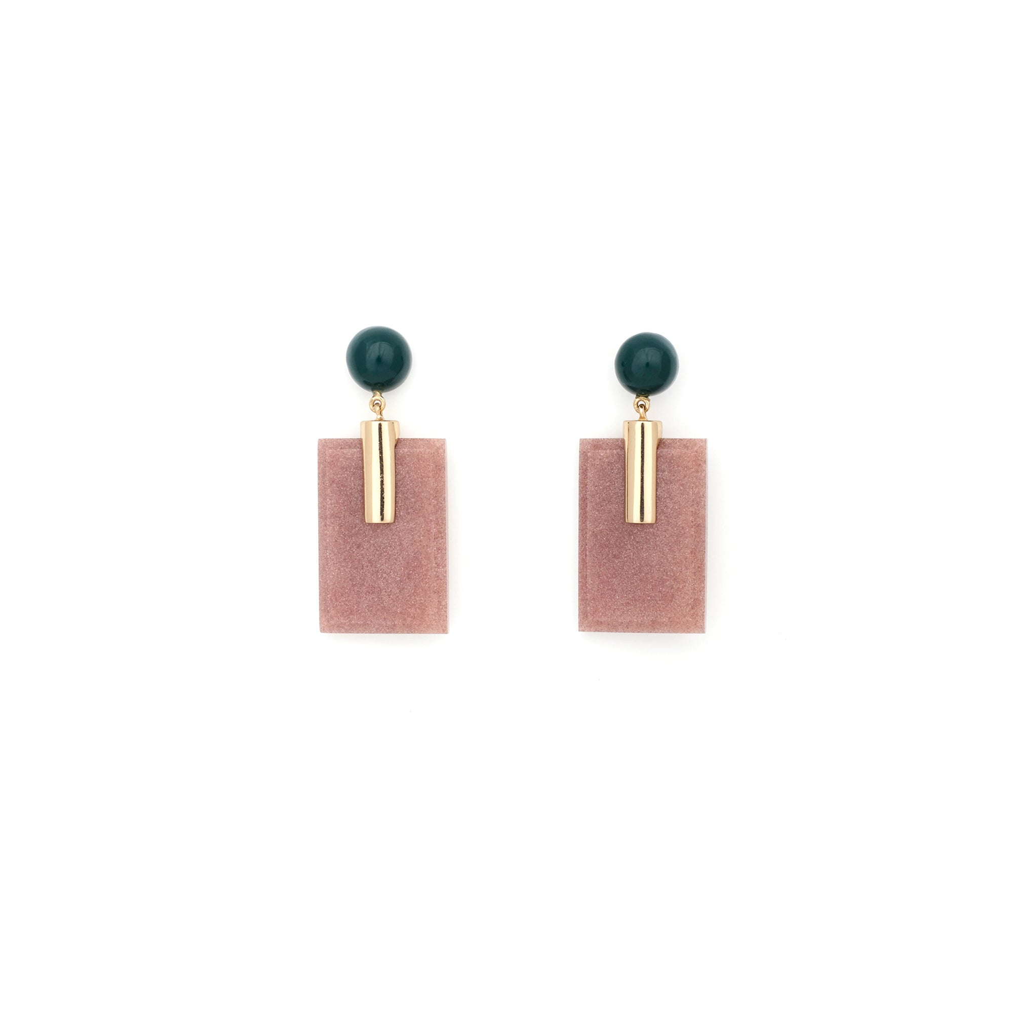 Fortune Earrings - Bone