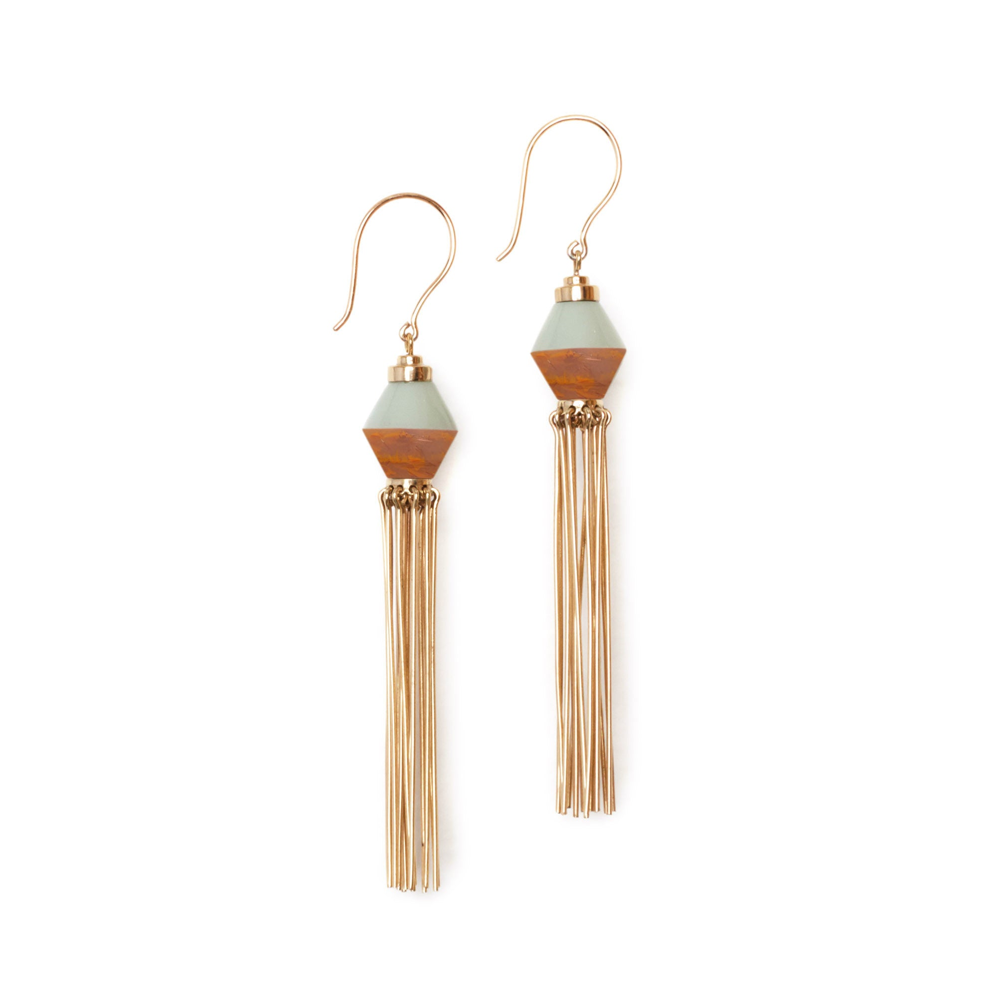 Metanical Tassel Earrings