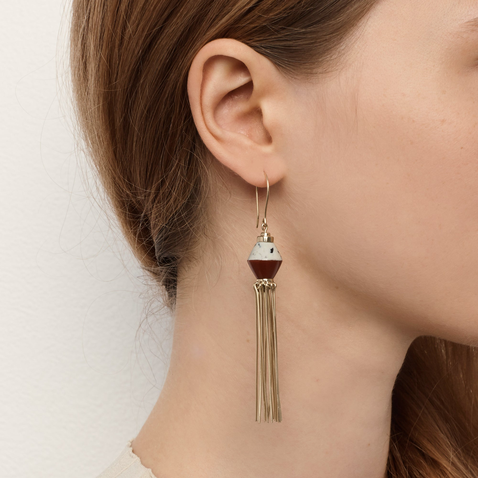 Disorientation Earrings - Mix Granite