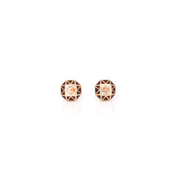 Mini Tempest Earrings - Shiraz