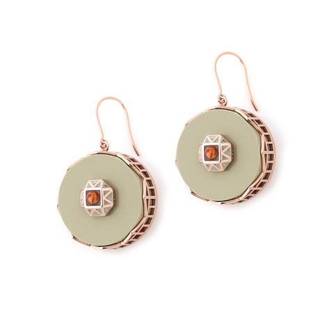 Tempest Earrings - Sand