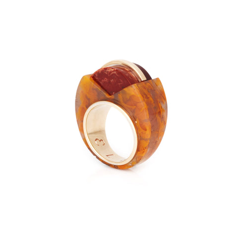 PRE ORDER // Rapture Ring - Rust