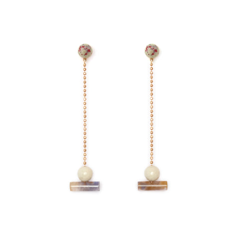 PRE ORDER // Resin Actuality Earrings - Amulet