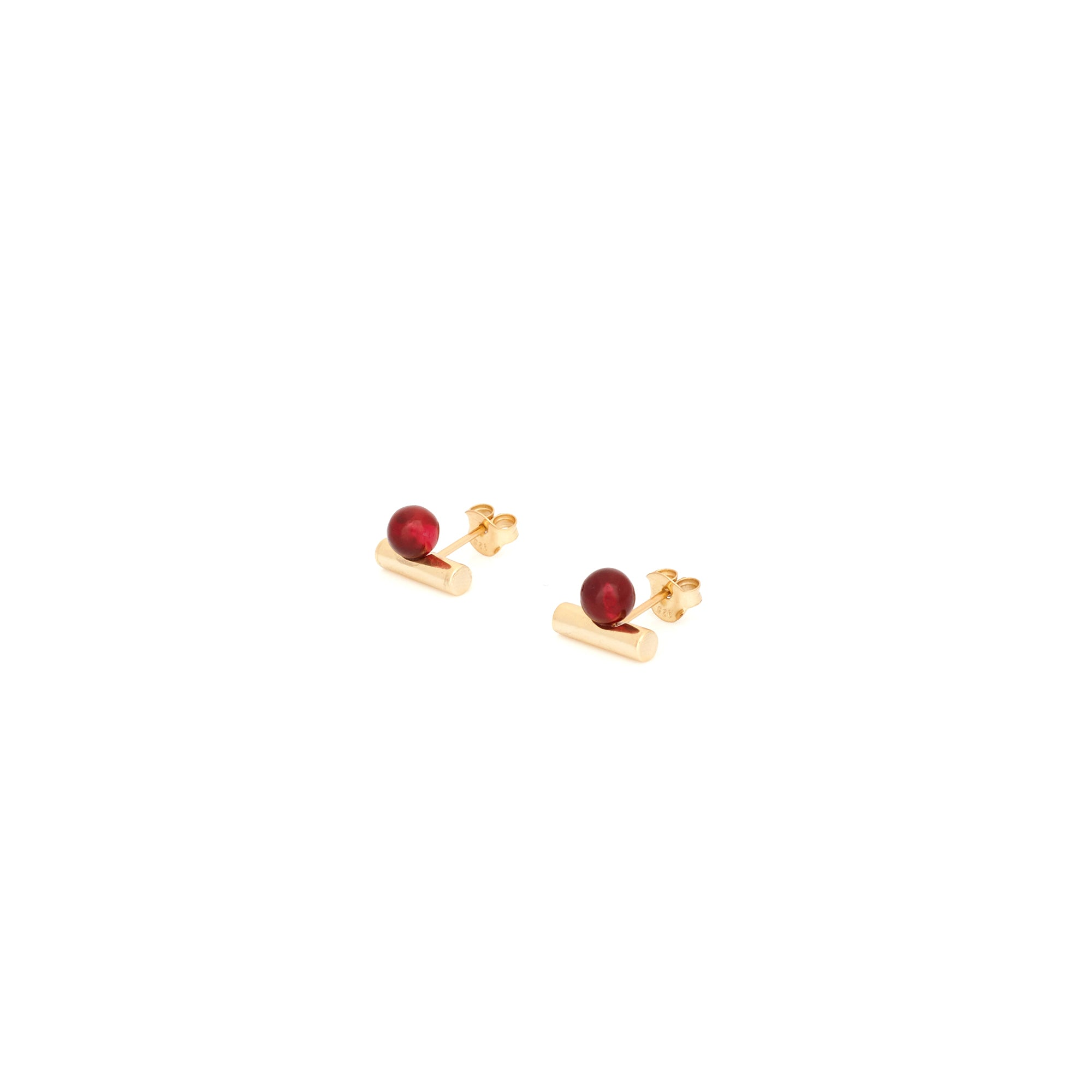 Stasis Earring - Currant