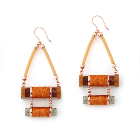 Earrings of Euphoria - Ochre