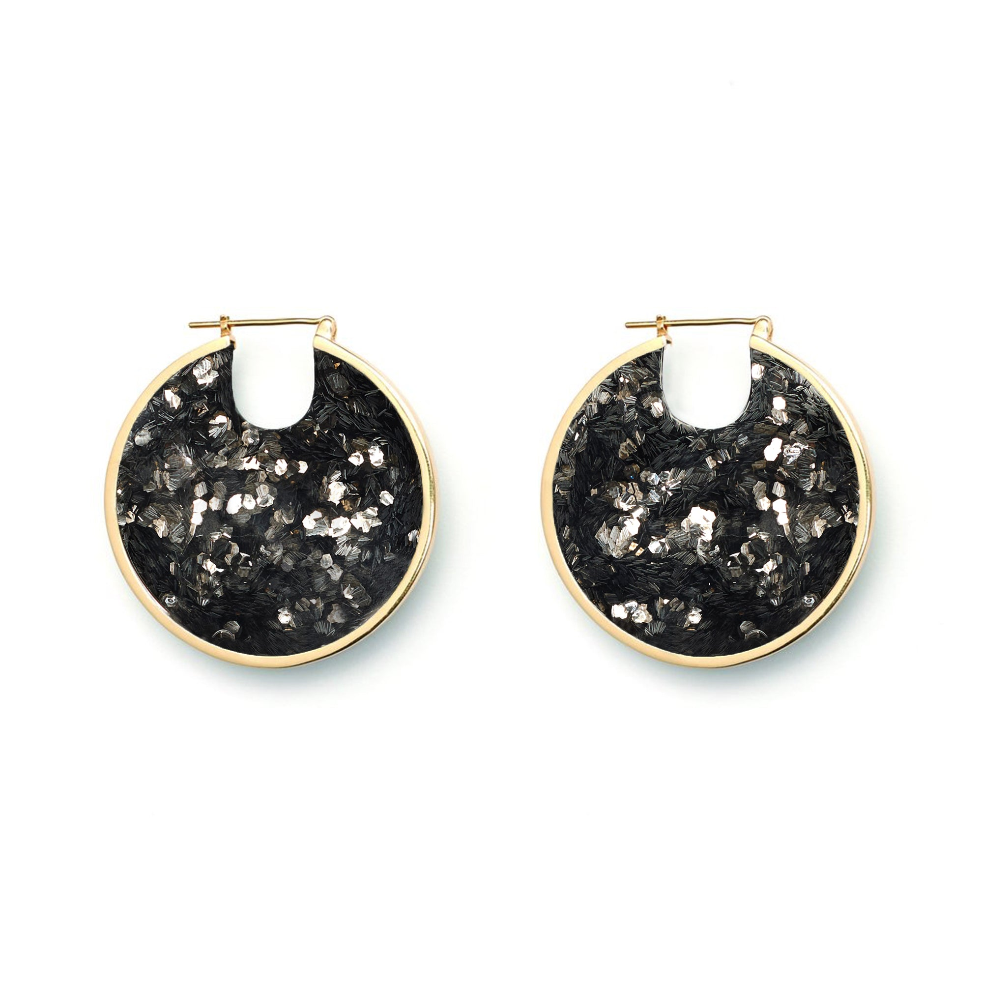 Eclipse Hoop Earrings - Luxe