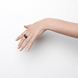 Orbit Stack Ring - Peach