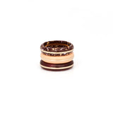 PRE ORDER // Orbit Stack Ring - Peach