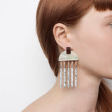 Meridian Earrings - Pearl