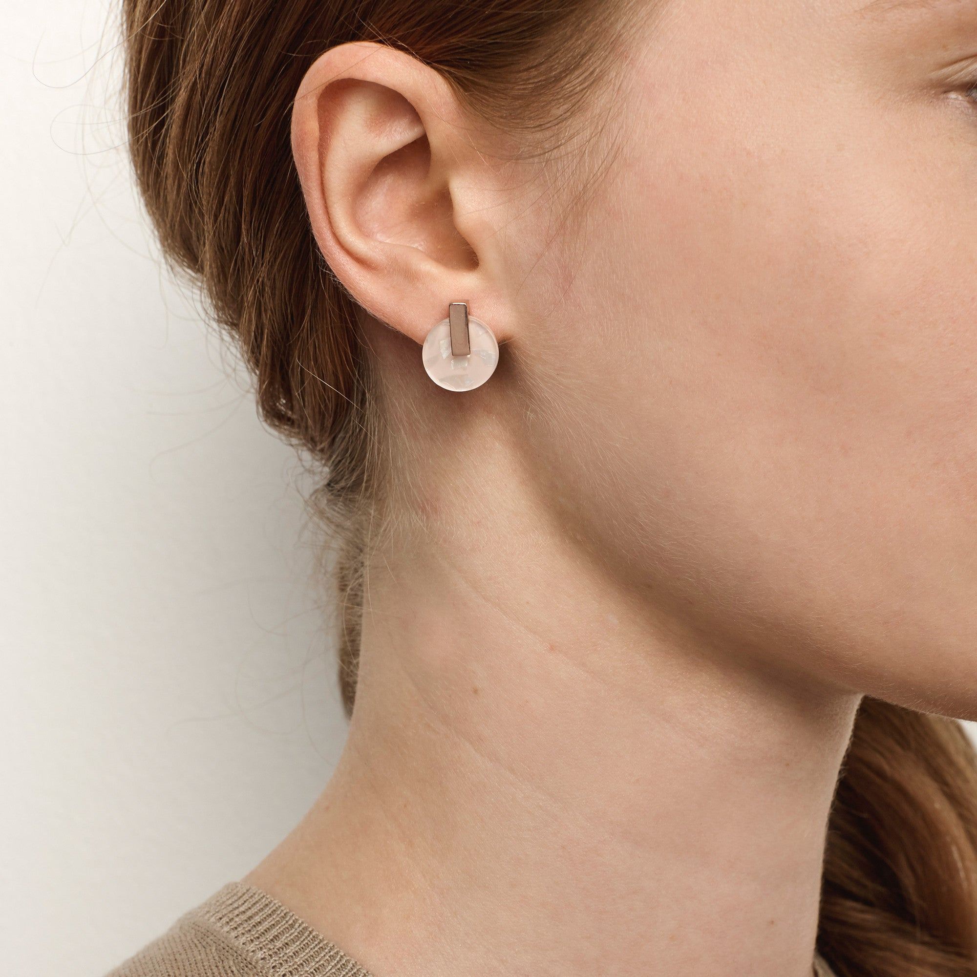 Resonance Stud Earrings - Musk