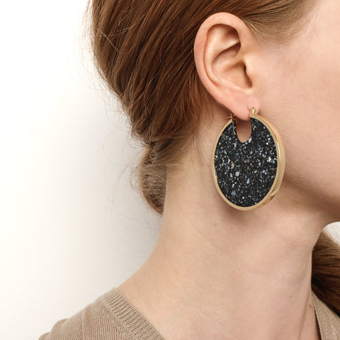 Eclipse Hoops - Dark Granite