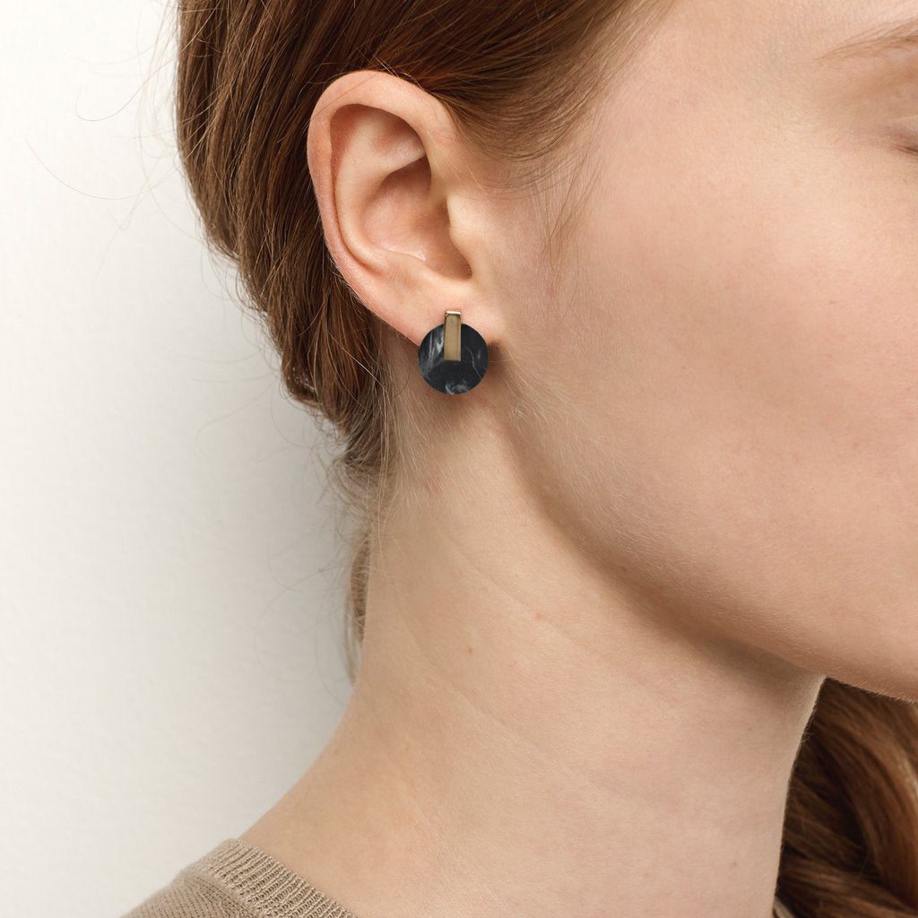 Resonance Studs - Midnight Jasper // PRE ORDER
