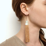 Pendulum Tassel Earrings