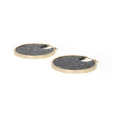 PRE ORDER // Eclipse Hoops - Dark Granite