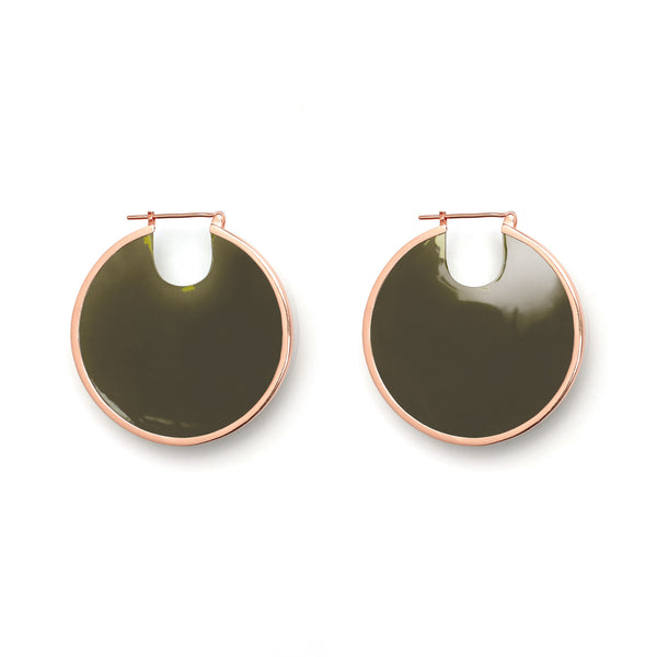 Eclipse Hoops - Olive