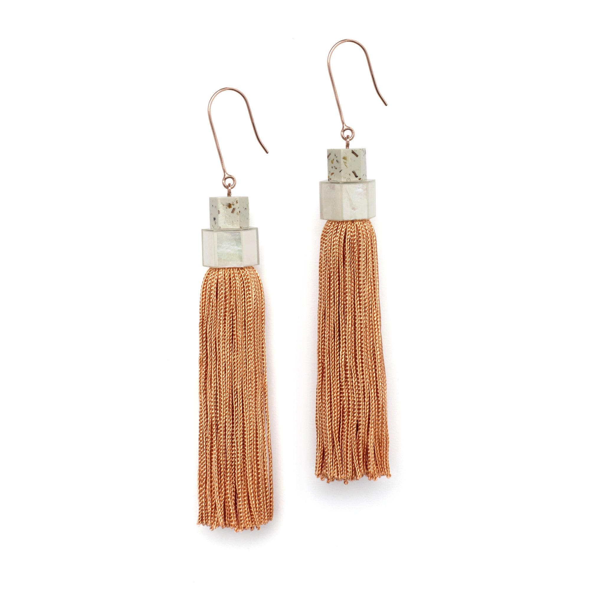 Long Tassel Earrings