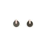 PRE ORDER // Resonance Stud Earrings - Concrete