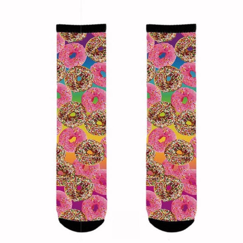 Socks: Crazy Donuts 🌟 CLEARANCE 🌟