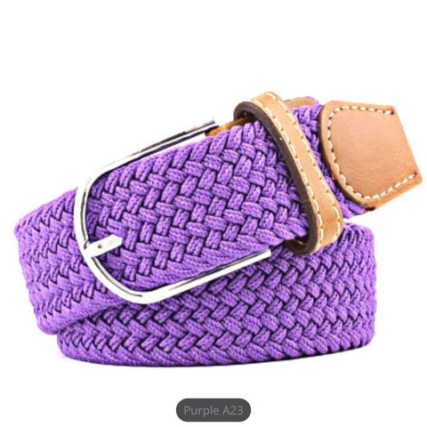 Belt: Comfy Stretchy ~ Purple