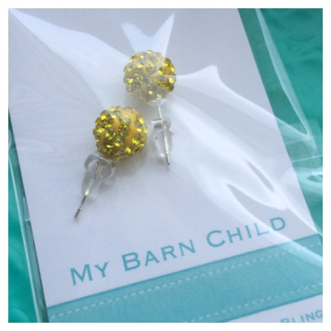 Earrings: Match Your Pony - Sunshine ⭐️ CLEARANCE ⭐️