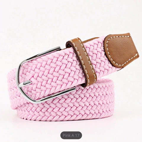 Belt: Comfy Stretchy ~ Pink