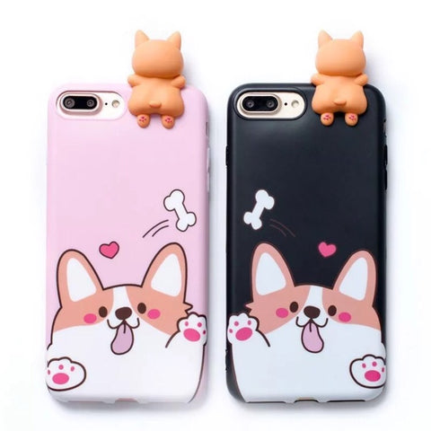 Phone Case: Corgi Creeper