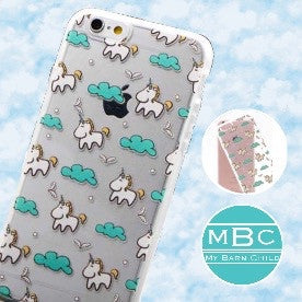 CLEARANCE! Phone Case: Unicorn/Clouds ~ iPhone 5/5s