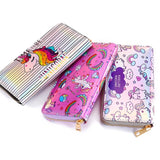 Wallet: Unicorns ~ Hot Pink Holographic