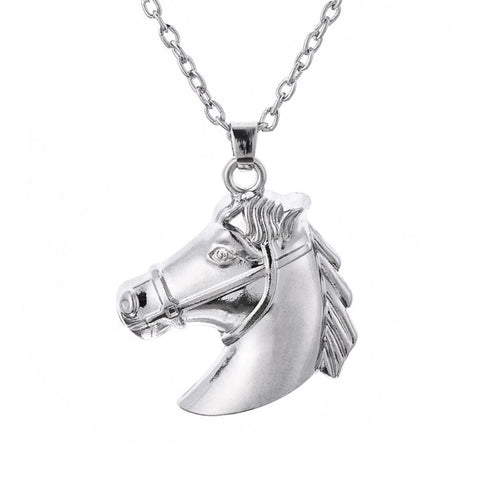 Necklace: Horse Portrait