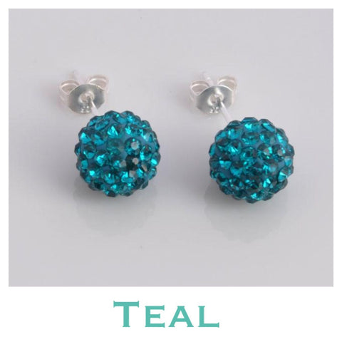 Earrings: Match Your Pony - Teal