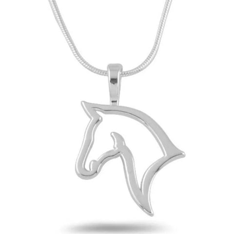 Necklace: Horse Head Silhouette