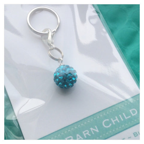 Bridle Charm: Match Your Pony - Turquoise