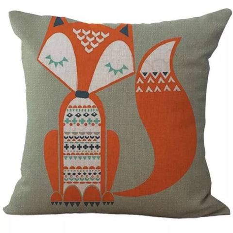 Décor: Throw Pillow Cover ~ Deco Fox