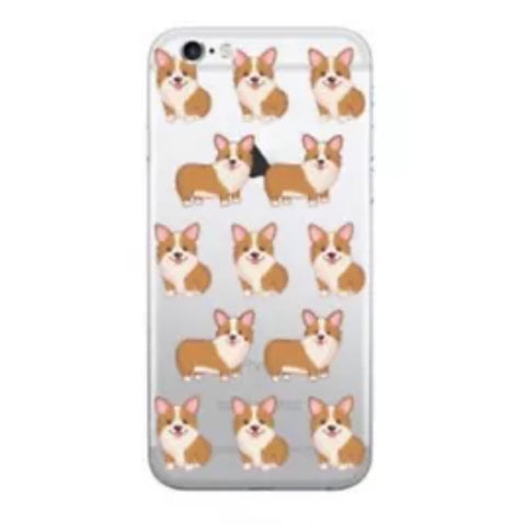 Phone Case: Red Corgis