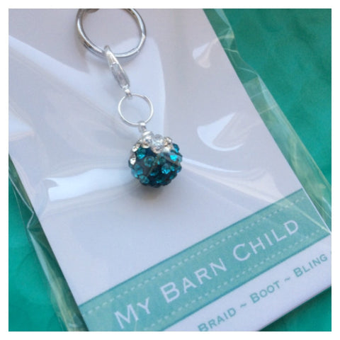 Bridle Charm: Match Your Pony - Turquoise Ombré