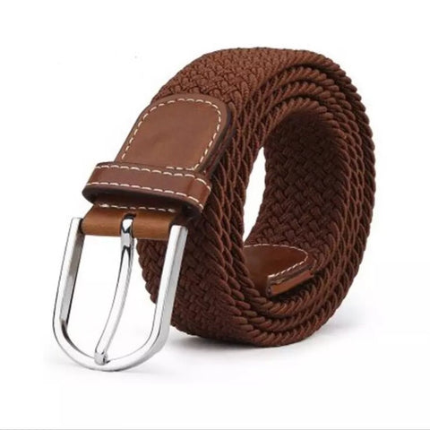 Belt: Woven Elastic - Brown 🌟 CLEARANCE 🌟