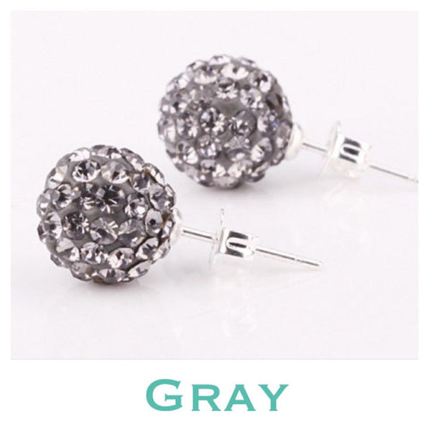 Earrings: Match Your Pony - Gray