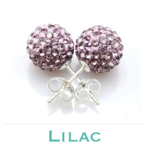 Earrings: Match Your Pony - Lilac