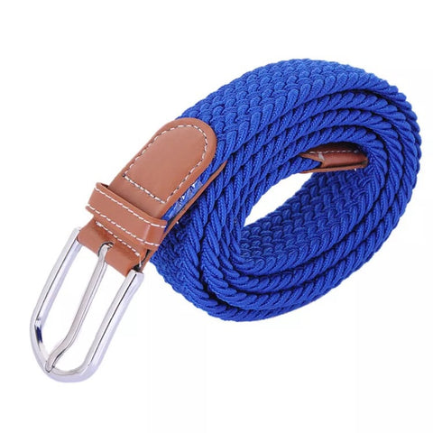 Belt: Woven Elastic ~ Royal Blue