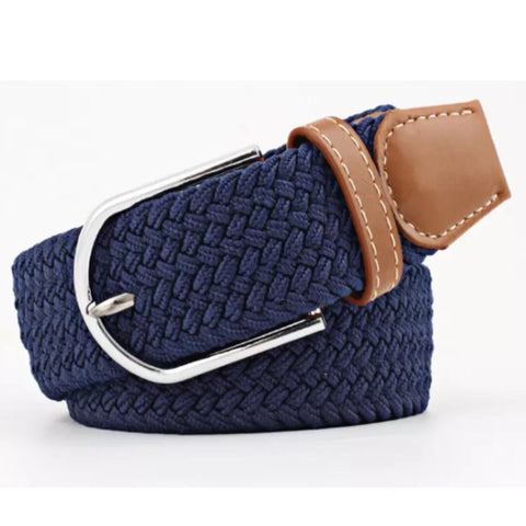Belt: Comfy Stretchy ~ Navy