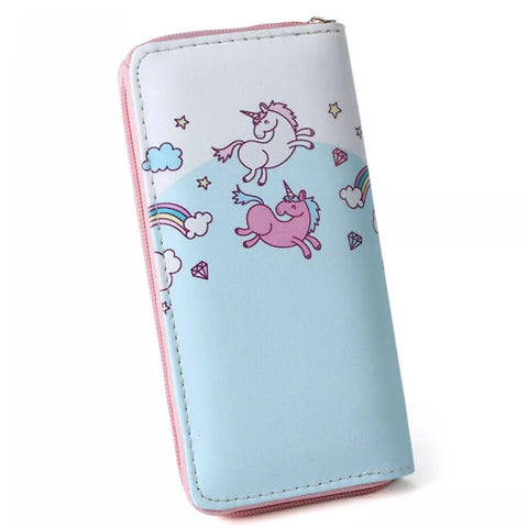 Wallet: Unicorn ~ Dancing Unicorns 💖 Clearance