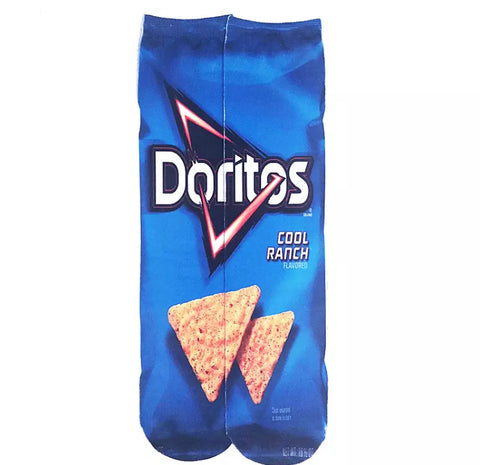 *Boot Socks: Doritos Cool Ranch ~ NEW!
