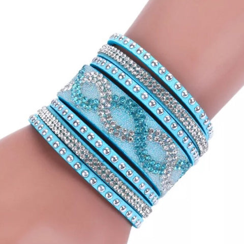 Bracelet: Glitz Cuff - Turquoise 🌟 CLEARANCE 🌟